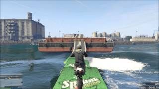 GTA 5 Online Course Custom WTF : WaterBike