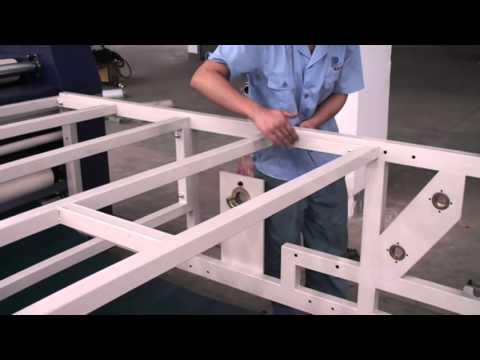 Install Process of MF1700  Heat Transfer Machine