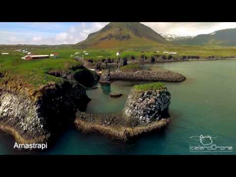 Snæfellsnes Peninsula view Iceland by drone 4k Inspire 1 x3 . Music: Moby The Violent Bear It Away