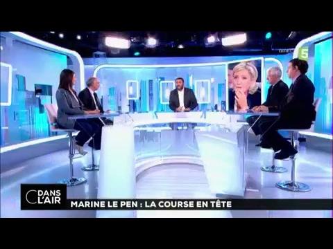 Marine Le Pen : La course en tête #cdanslair 10-02-2017