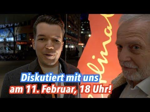 Hans Jessen Show trifft Wolfgang M. Schmitt: Kommt am 11. Februar!
