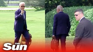 Bumbling Biden 'gets lost' on way to White House after ignoring Secret Service agent