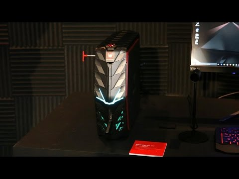 Acer is ready for VR with a new Predator gaming desktop and laptop