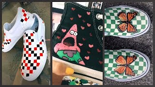 BEST TIK TOK PAINTING ON SHOES…