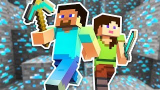 HOW TO FIND DIAMONDS!! - MINECRAFT w/ MY BOYFRIEND