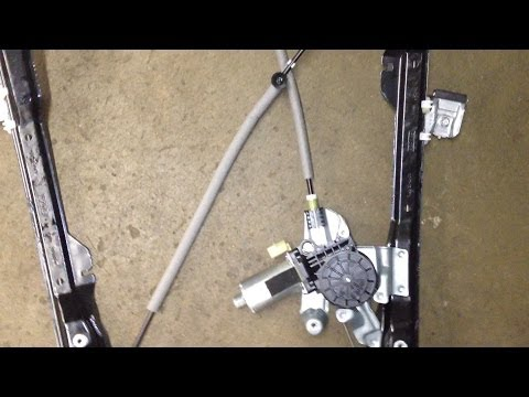 Ford Focus Window Regulator Problems Youtube