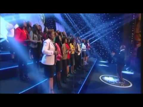Living Faith Connections' Choir on BBC One's Gospel Choir of the Year Competition