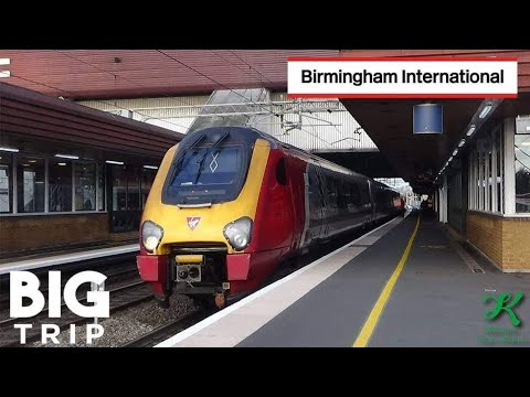 Trains At Birmingham International, WCML - 20/10/18