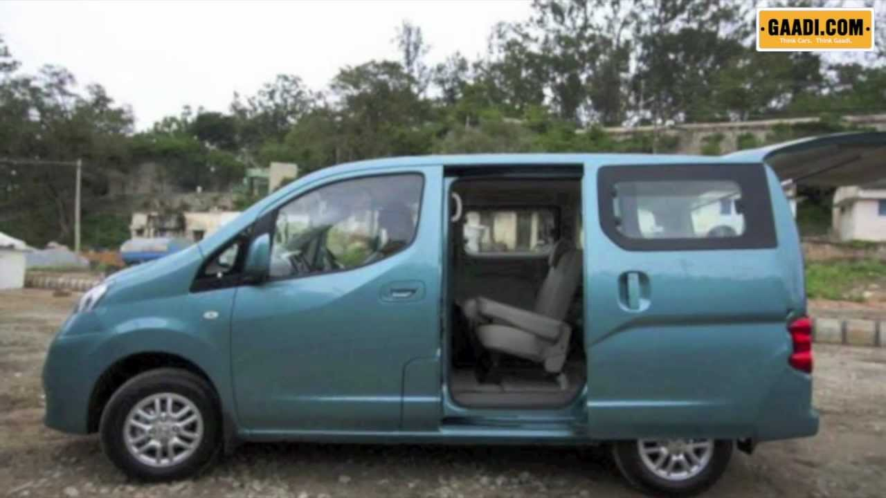 Nissan Evalia India First Look Tata Motors Full Throttle