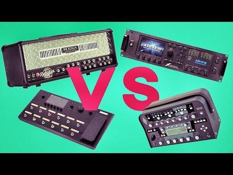 Mesa Dual Rectifier vs Axe-Fx III vs Line6 Helix vs Kemper Profiling Amplifier + FREE PRESETS!