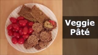 Veggie Pâté  - Vegan Recipe