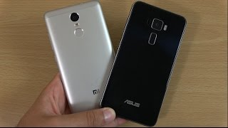 Xiaomi Redmi Note 3 Pro vs Asus Zenfone 3 - Speed Test!
