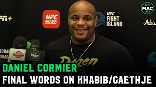 "Daniel Cormier: Khabib vs. Justin Gaethje ""feels like Rocky 4 .. Gaethje thrives in that chaos"""