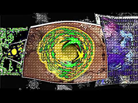 Abstract Rhythm in Time DigitalART  by Alan Silva  Improvising Light Being 36