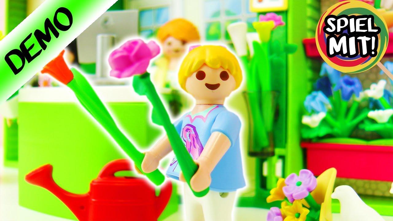 Playmobil blumenladen hannah kauft blumen fÜr dave