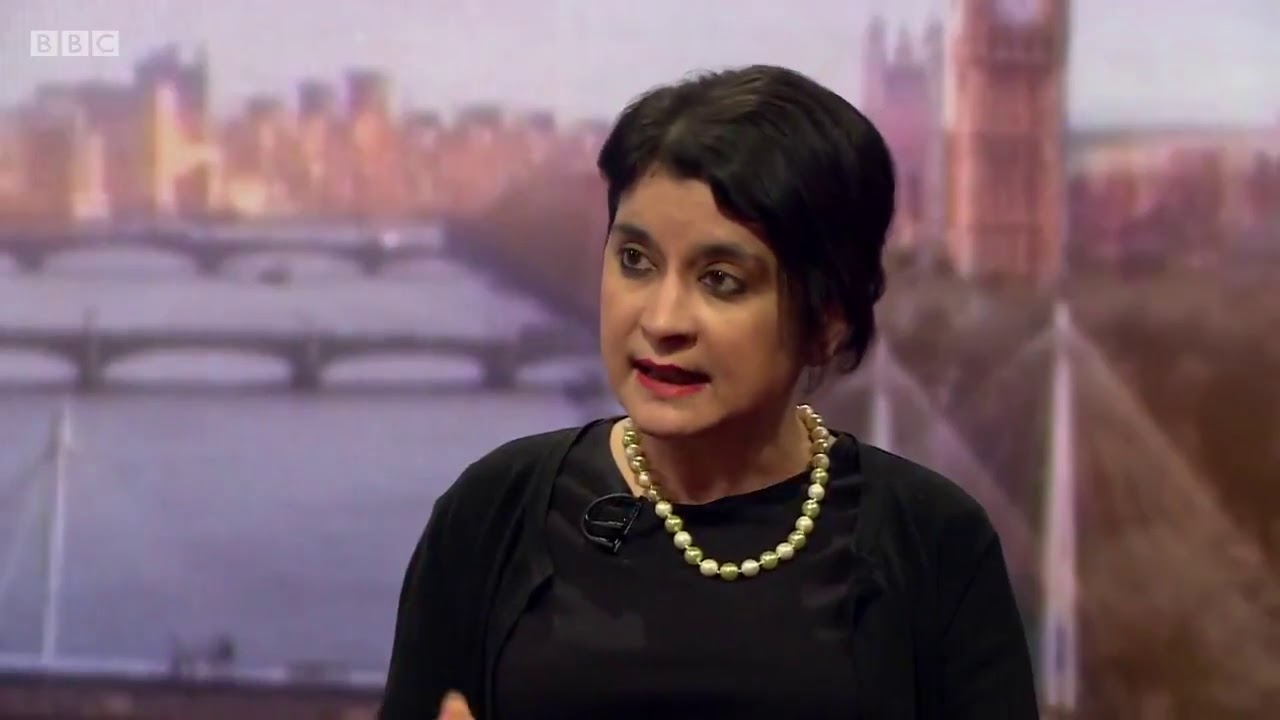 Shadow Attorney General Baroness Chakrabarti on The Andrew Marr Show