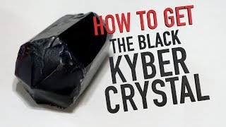 How To Get The BLACK KYBER CRYSTAL at Star Wars: Galaxy's Edge!