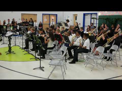 East Arbor Academy Band & Choir Winter Concert 2017  5th Grade (4K Ultra HD)