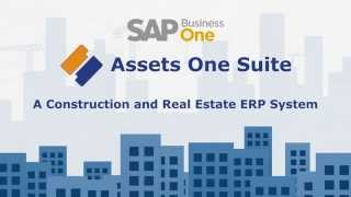 Assets One Suit - Construction and Real Estate ERP System Based on SAP Business One