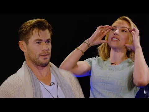 Chris Hemsworth Insults Scarlett Johansson On BBC Radio 1