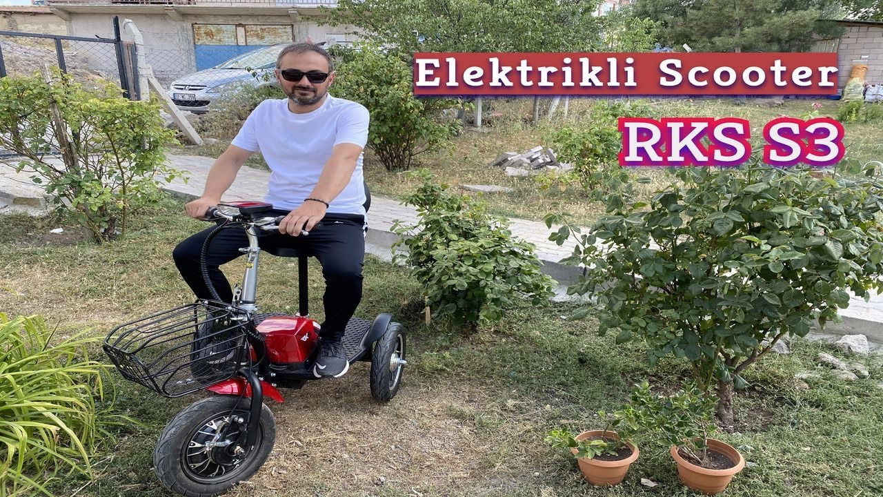Oxelo Tweesty 500 Scooter Test Selim Anamur