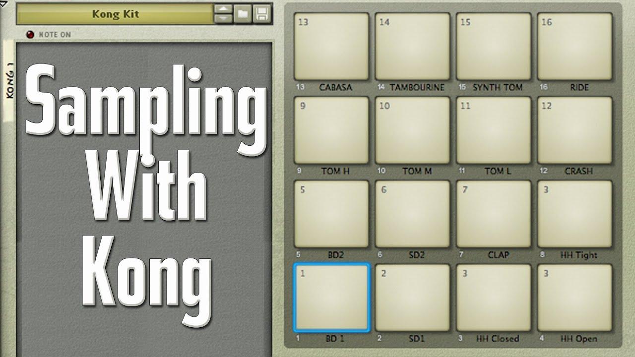 Reason kong tutorial: the nn-nano sampler | modeaudio.