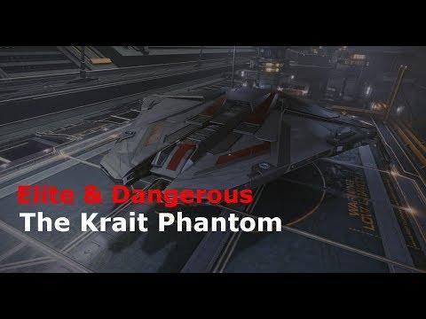 Krait Phantom - Elite & Dangerous Roguey