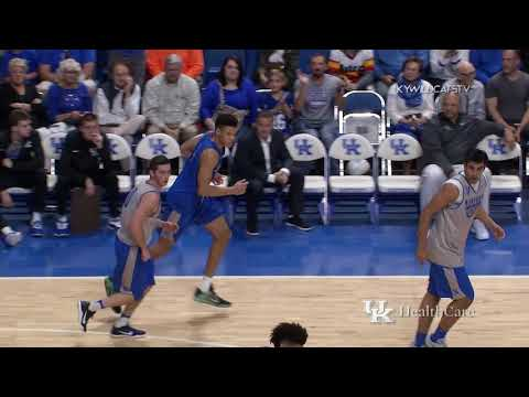 MBB: Blue White Scrimmage Highlights