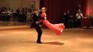 John Carlson & Alina Balayeva - Viennese Waltz - Мой ласковый и нежный зверь