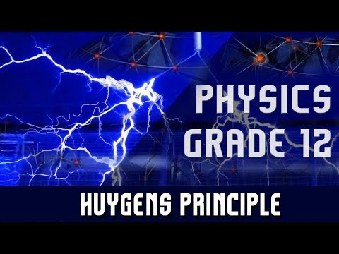 Physics(Grade 12) | Light Waves | Young's Double Slit Experiment | Huygens Principle