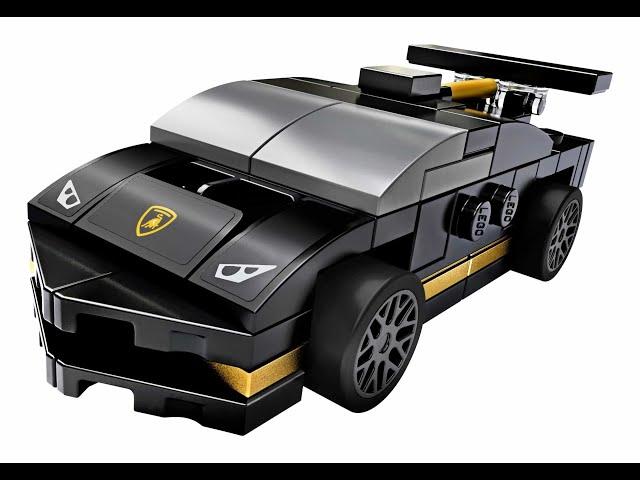 Aufbau von LEGO® Speed Champions 30342 Lamborghini
