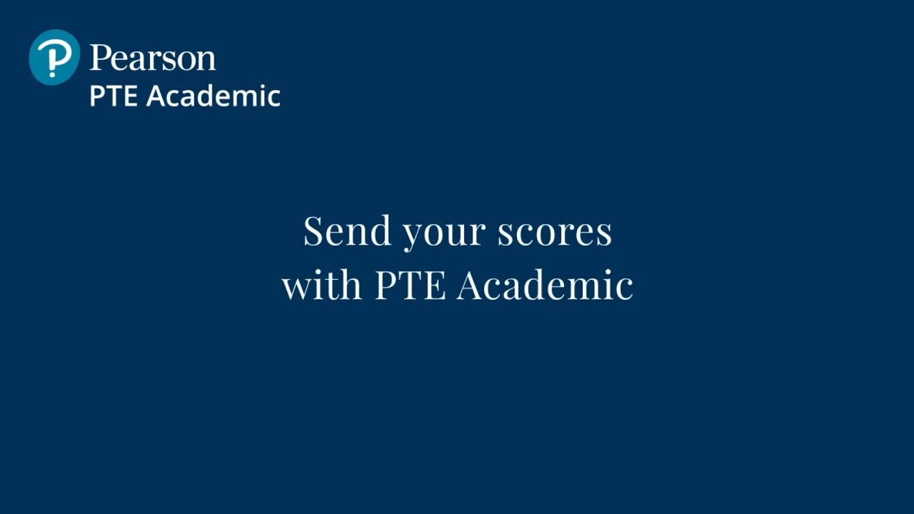 How to Send Your Test Scores? | PTE Academic