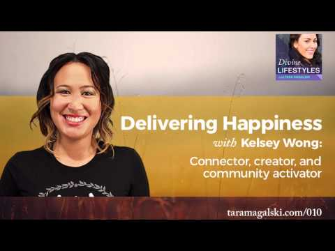 Kelsey Wong | Delivering Happiness