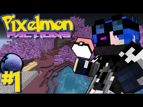 """MY CUSTOM STARTER,  FACTIONS & MORE!"" - Pixelmon Factions (Minecraft Pokemon Modpack) 