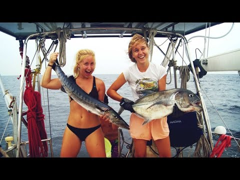 Catching Fish Like Crazy!- Sailing SV Delos Ep. 71