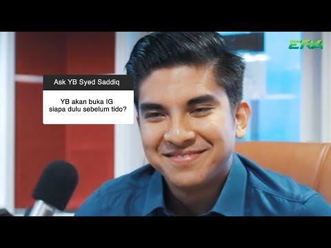 Ask Me Anything - YB Syed Saddiq
