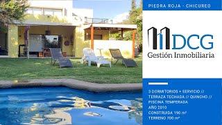 Venta Casa ubicada en Piedra Roja, Chicureo. Condominio El Refugio.