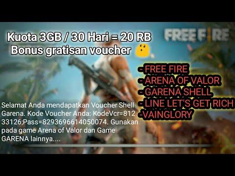 Paket internet murah 3GB cuma 20RB +  GRATIS VOUCHER GAME ONLINE !!