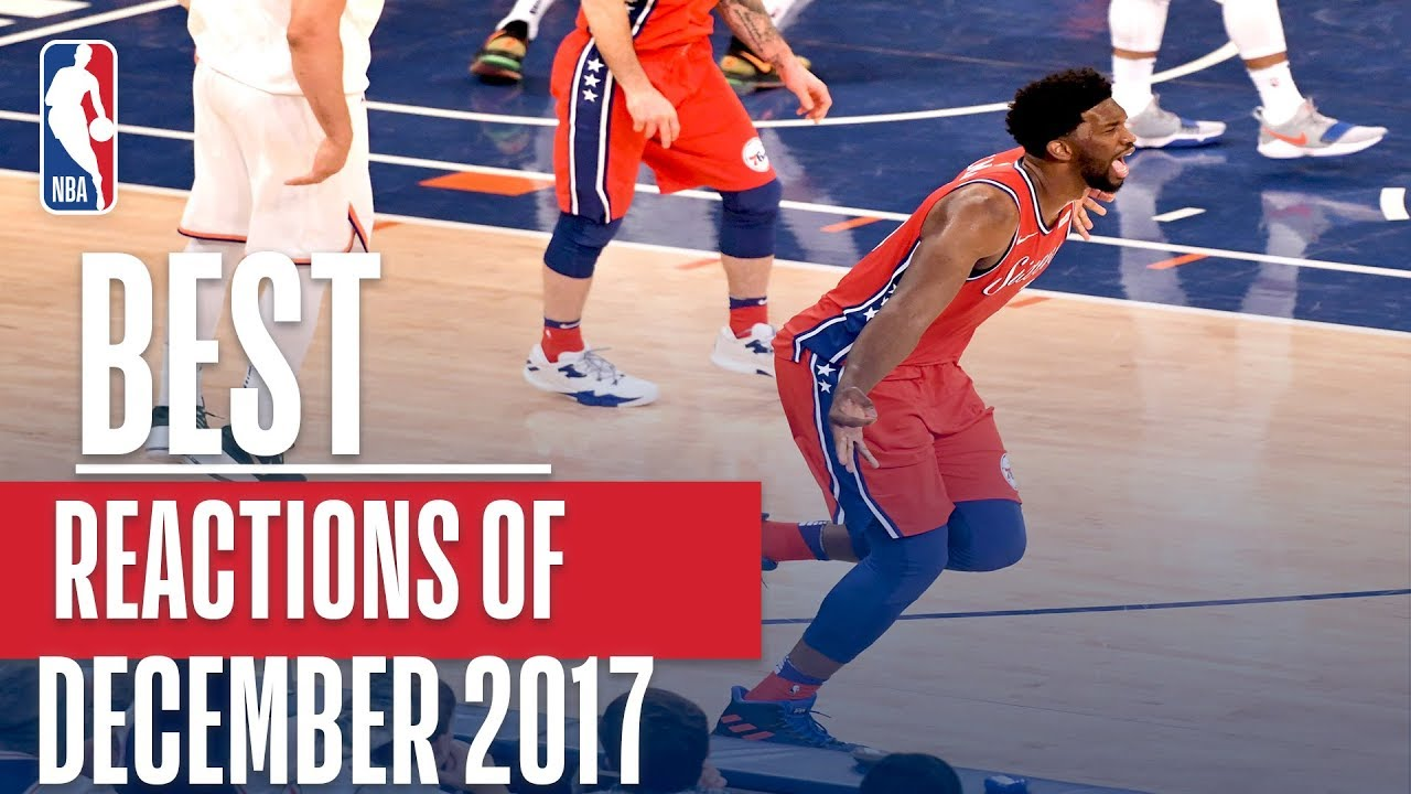 Best NBA REACTIONS of the Month   December 2017