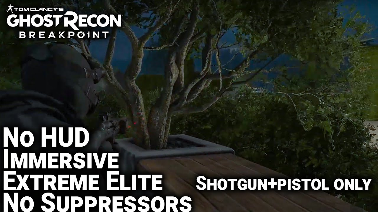 Vega Residence - Ghost Recon Breakpoint (Extreme Elite, No HUD, No Commentary)