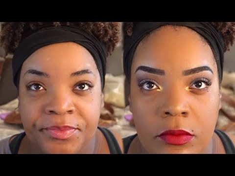 Easy Makeup Tutorial for Beginners | Simple Glam | ❤LifeWithLisa343💋 thumbnail