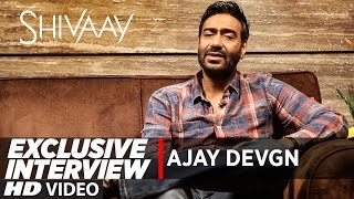 Ajay Devgn - Shivaay Music Is the Part of Story Telling | Exclusive Interview