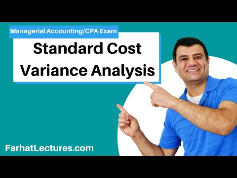 Standard Cost Variance Analysis   Managerial Accounting   CMA Exam