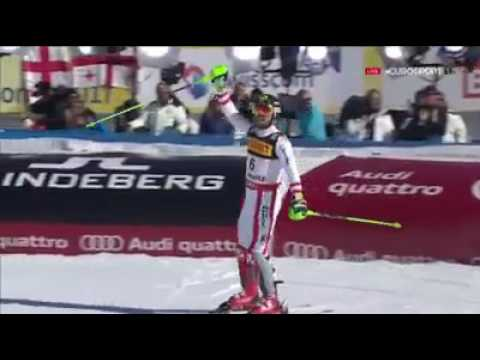 Marcel Hirscher - St. Moritz WM Slalom 2nd run