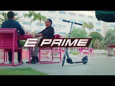 Razor E Prime Electric Scooter Ride Video