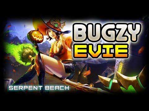 BUGZY (FNATIC) Evie Gameplay POV | Serpent Beach