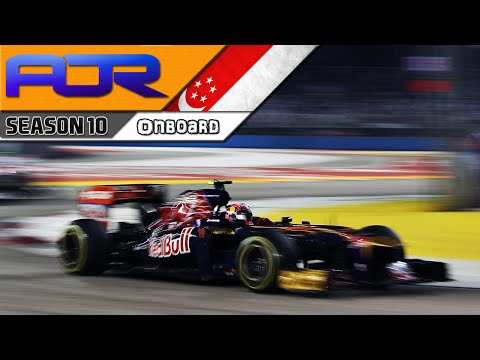 F1 2013 - AOR F1 Season 10 (Singapore highlights)