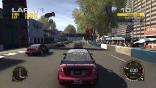 Race Driver Grid Gameplay Xbox 360 1080P