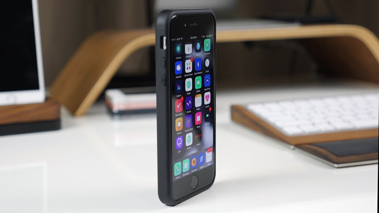 iphone 7 battery charger case thin