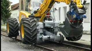 3-Wegebagger - 3-way excavator Menzi Muck A91 4x4 plus